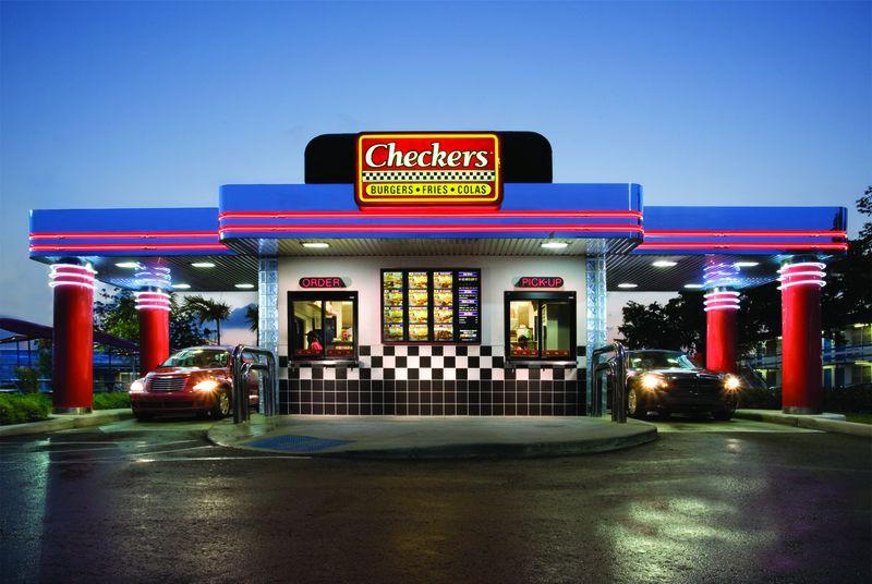 Checkers Restaurant Facade
